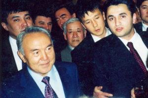 Oglu Vezire Knyaz Cumhurbashkani Nazarbayevle
