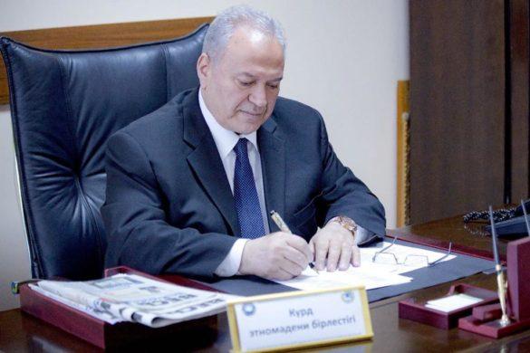 Князь Мирзоев, президент Ассоциации «Барбанг» курдов Казахстана, член Совета Ассамблеи народа Казахстана, профессор, доктор филологических наук