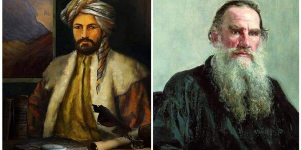 Du bazirganên bazara kesad: Xanî û Tolstoy