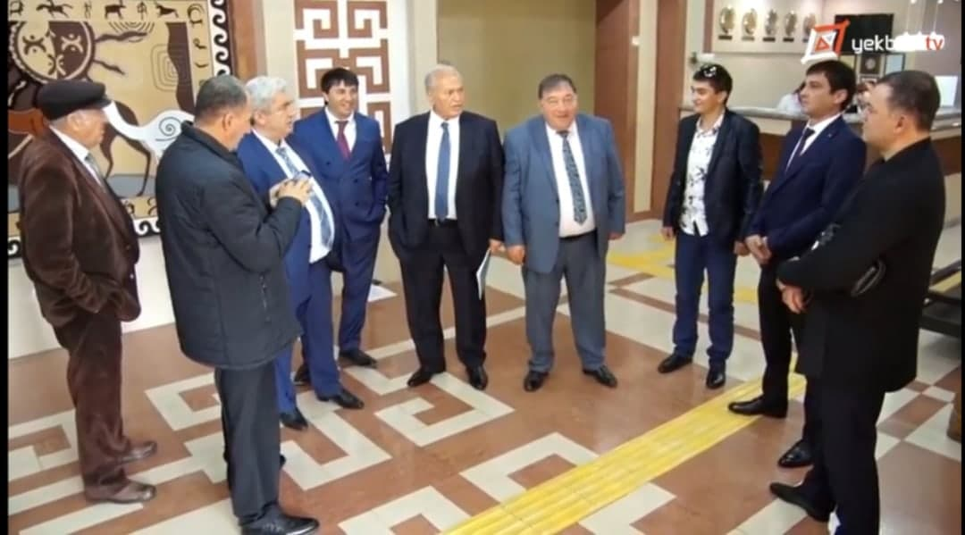 Rews û Jiyan |  Axaftina Knyaze Ibrahim ser rewsa kurden herema Taraze û Çimkente || Yekbûn TV