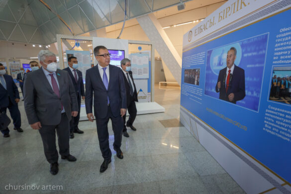 Ж. Туймебаев: В основу развития Казахстана заложено единство народа