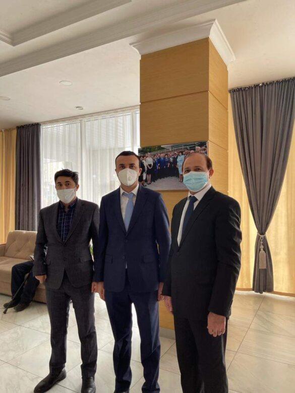 Hevdîtin tevî berendamê Parlamentoya Qazaxîstanê