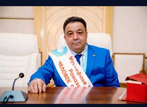 Мустафа Мустафаев - обладатель номинации Человек Года-2020