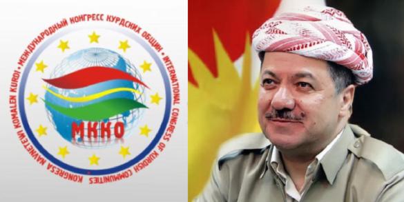 Banga Federasyona Navnetewî ya Diyasporayên kurdan (FNDK) bo Serok Mesûd Barzanî