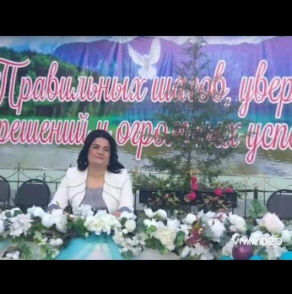 Гулизар Надирова Түркістан облысы бойынша мерекелік шараларға қатысты