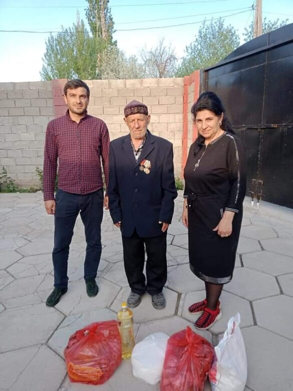 """Филиал Ассоциации """"Барбанг"""" курдов Казахстана провёл благотворительную акцию в Жамбылской области в рамках инициативы #ЕлбасыЖылуы"""