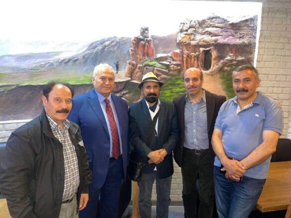 Завершился визит председателя Международной федерации курдских общин в страны Европы