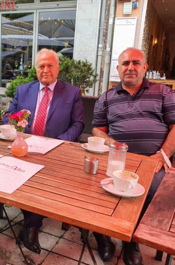 Hevpeyvînek Ligel Prof. Kinyaz Ibrahim Mîrzoyêv | Romav Kurdi